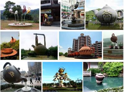 памятники чаю