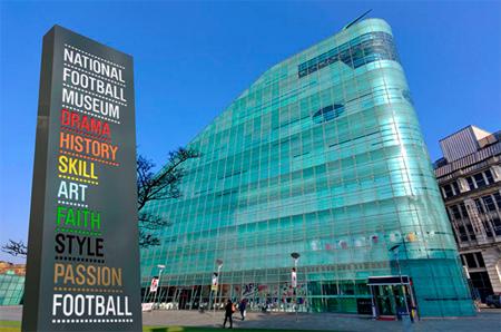 Национальный футбольный музей в престоне, англия