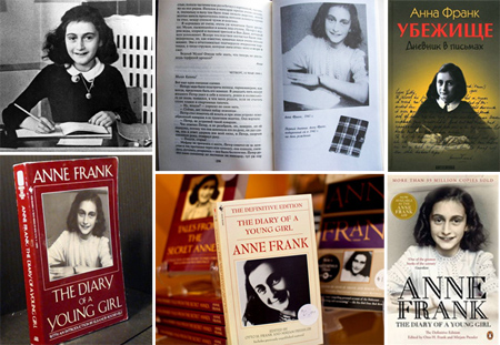 a report on the book of anne frank In 1933, the nazis began to round up all the jews within europe and relocate them into concentration camps there, they would be executed or forced to labor until they died.